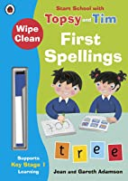 Wipe-Clean First Spellings: Start School With