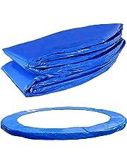 Terena® Federabdeckung 183- 244- 305- 366- 396- 427- 457- 488 cm für Trampolin Randabdeckung blau PVC - UV beständig