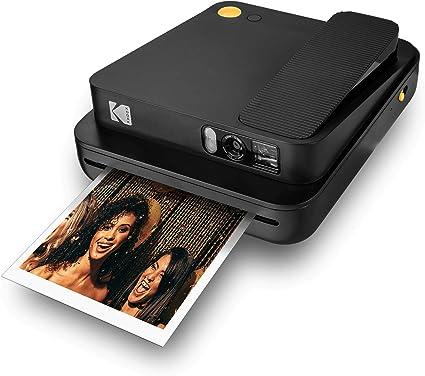 KODAK SMILE Classic Cámara Instantánea Digital c/Bluetooth (Negro ...