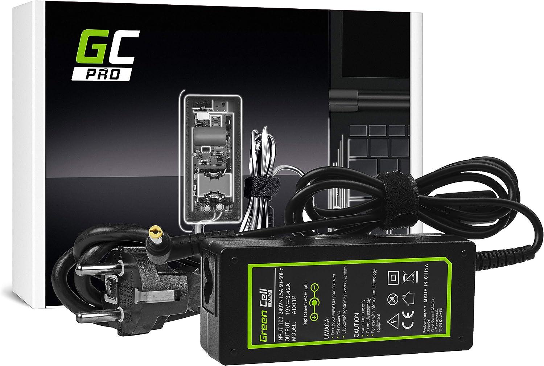 GC Pro Cargador para Portátil Acer Aspire 5741G 5742 5742G E1-521 ...