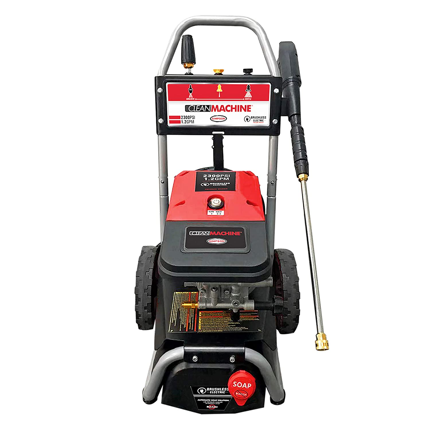 Simpson Cleaning 61016 2300 PSI a 1.2 GPM Simpson Lavadora a ...