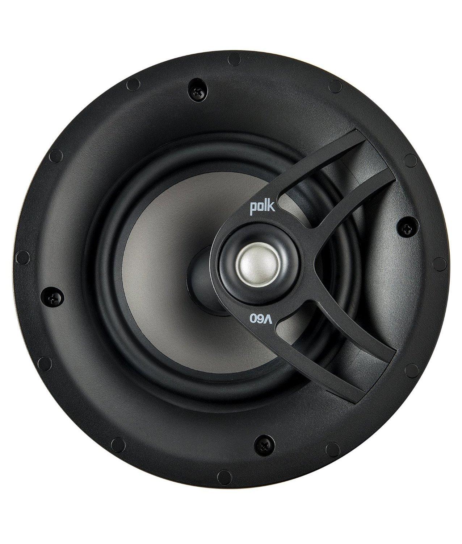 Amazon.com: Polk Audio V60 High Performance Vanishing In-Ceiling Speaker (Single): Home Audio & Theater