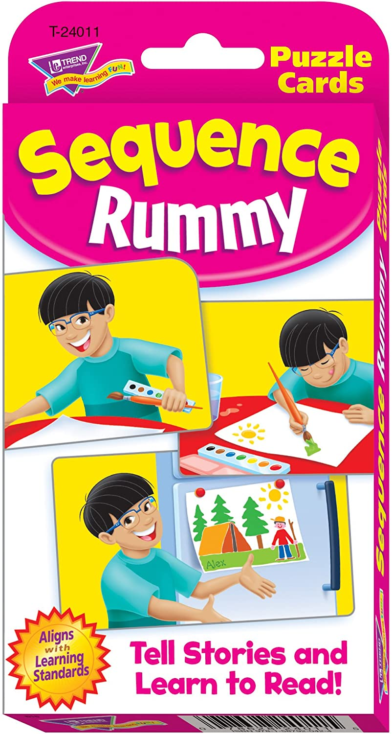 Sequence Rummy Challenge Cards by Trend Enterprises Inc: Amazon.es ...
