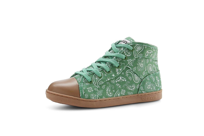 Dezzys Unisex Marley Hi Top Kids Canvas Sneaker