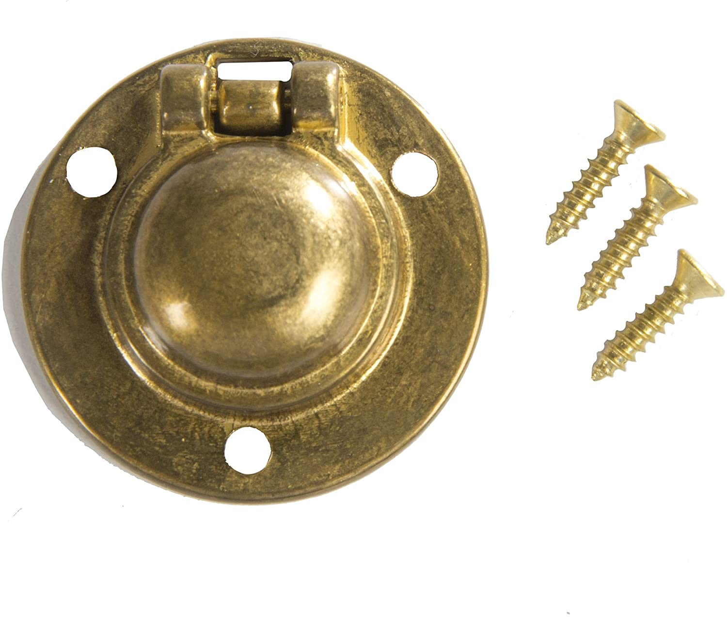 One Brass cup pull 6 available