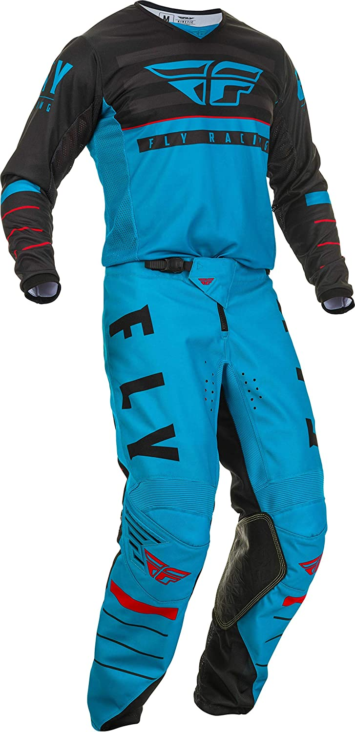 Fly Racing Kinetic K120 Mens MX Offroad Jersey Blue//Black//Red