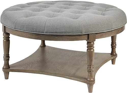 Martha Stewart Cedric Round Coffee Table