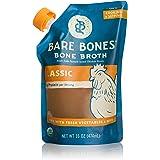 Organic Chicken Bone Broth by Bare Bones - Organic, Chicken Bone Broth, Protein-rich, 16 oz (2-pack)