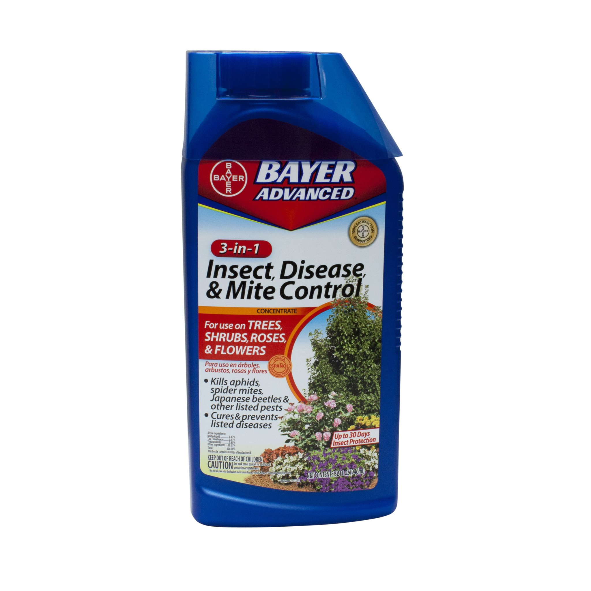 Bayer 3-in-1 Insect Disease & Mite Control Concentrate - 32 oz. #701285B by Bayer