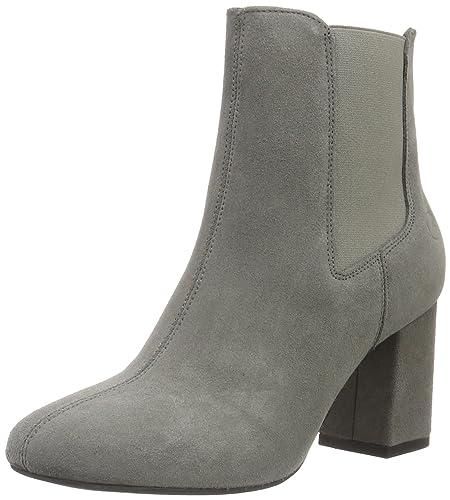 Bronx Damen Indira Chelsea Boots, Grau (Grey 08), 36 EU