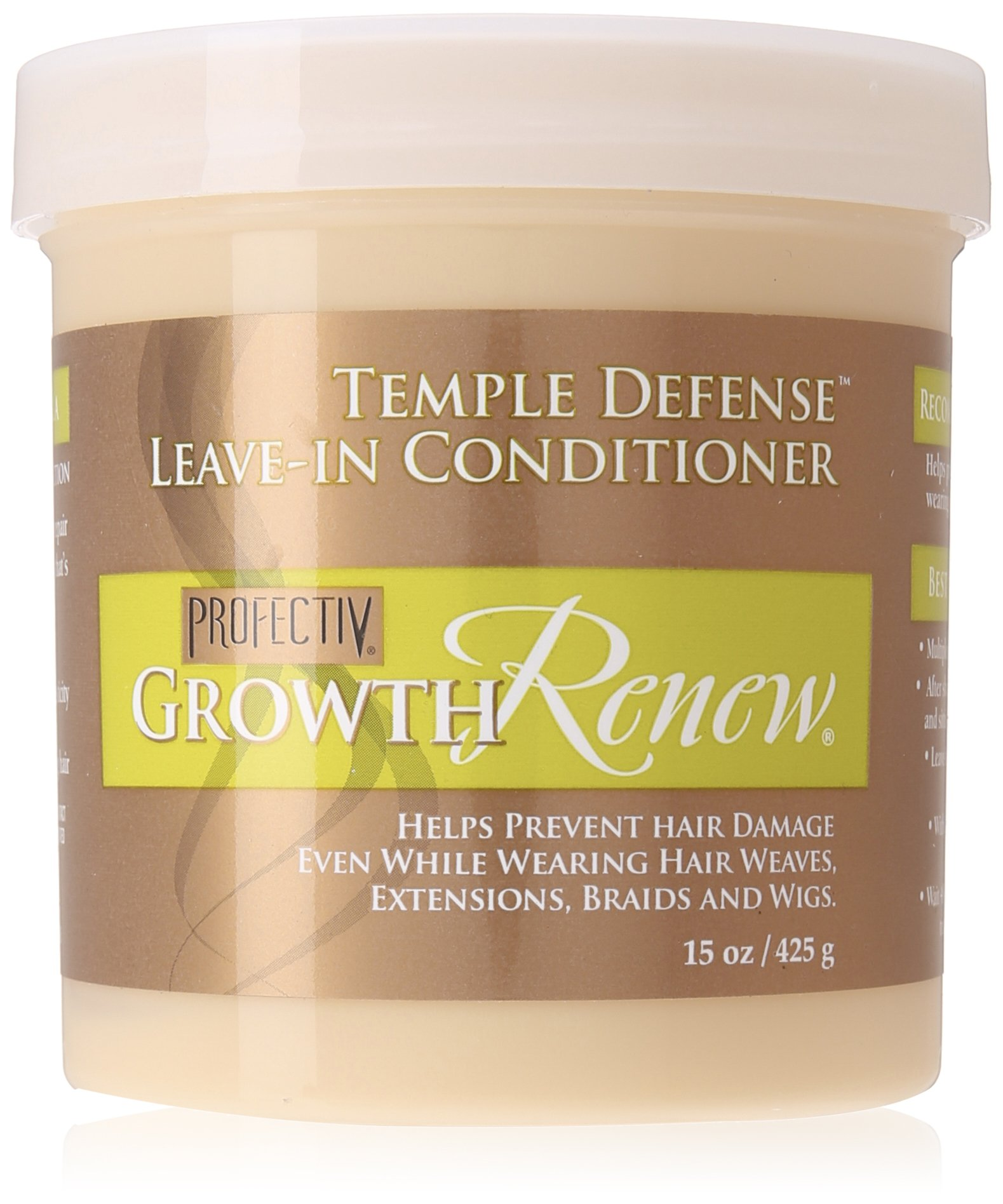 Profectiv Growth Renew Temple Defense Leave In Conditioner, 15 Ounce