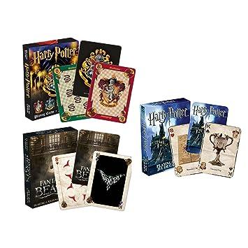 AQUARIUS Harry Potter Juego de Cartas: Amazon.es: Juguetes y juegos