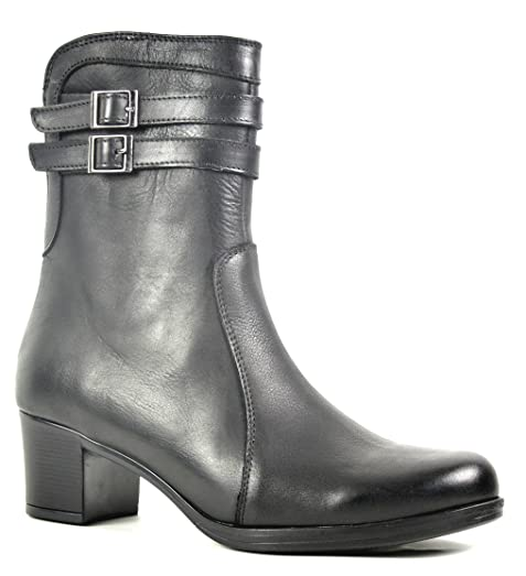 Ogswideshoes Adele Leather Boots Extra Wide C Width 3e Width