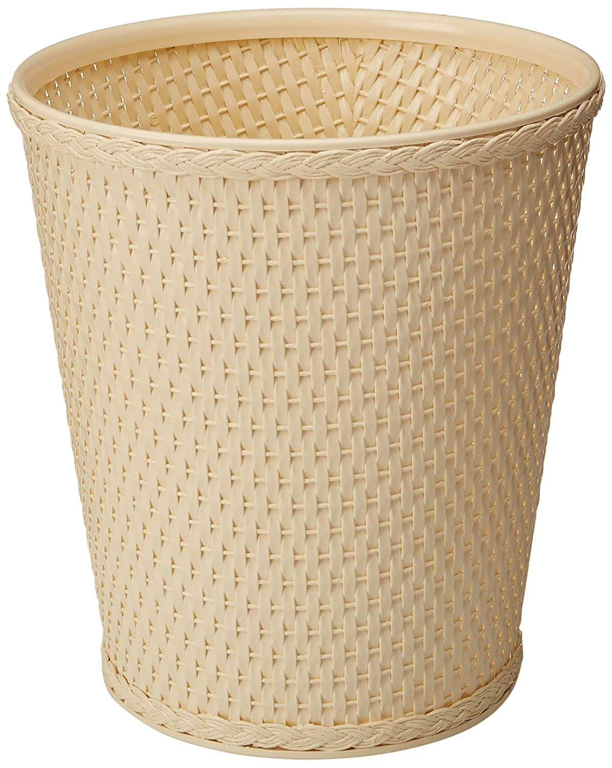 LaMont Home Carter Round Waste-Basket, Cappuccino 1859039
