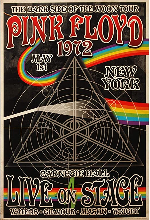 NMR Laminated Pink Floyd Marquee 66 Rock Band Music Poster 24x36