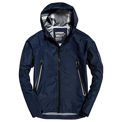 Superdry Men's Hydrotech Waterproof Jacket at Amazon Men's Clothing store