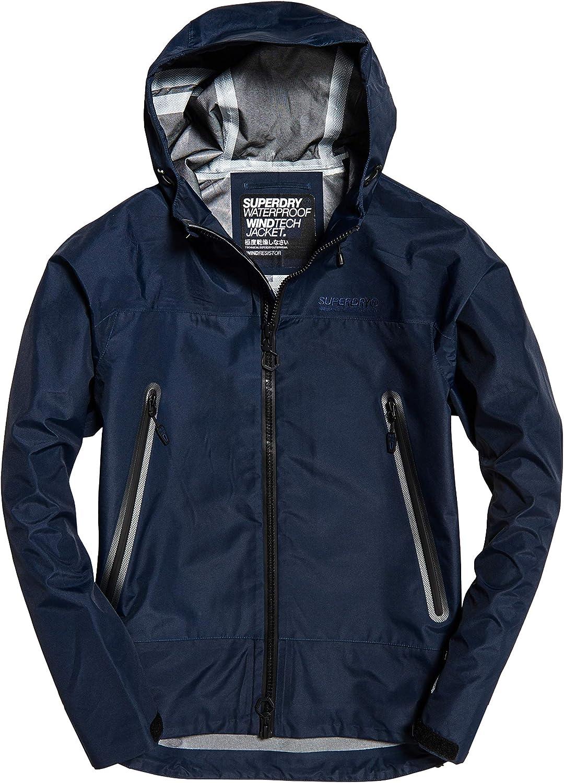 Superdry Mens Hydrotech Waterproof Jacket