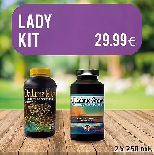 MADAME GROW / Lady Kit/DuoPack/Raíz, Crecimiento, Nutrición y ...