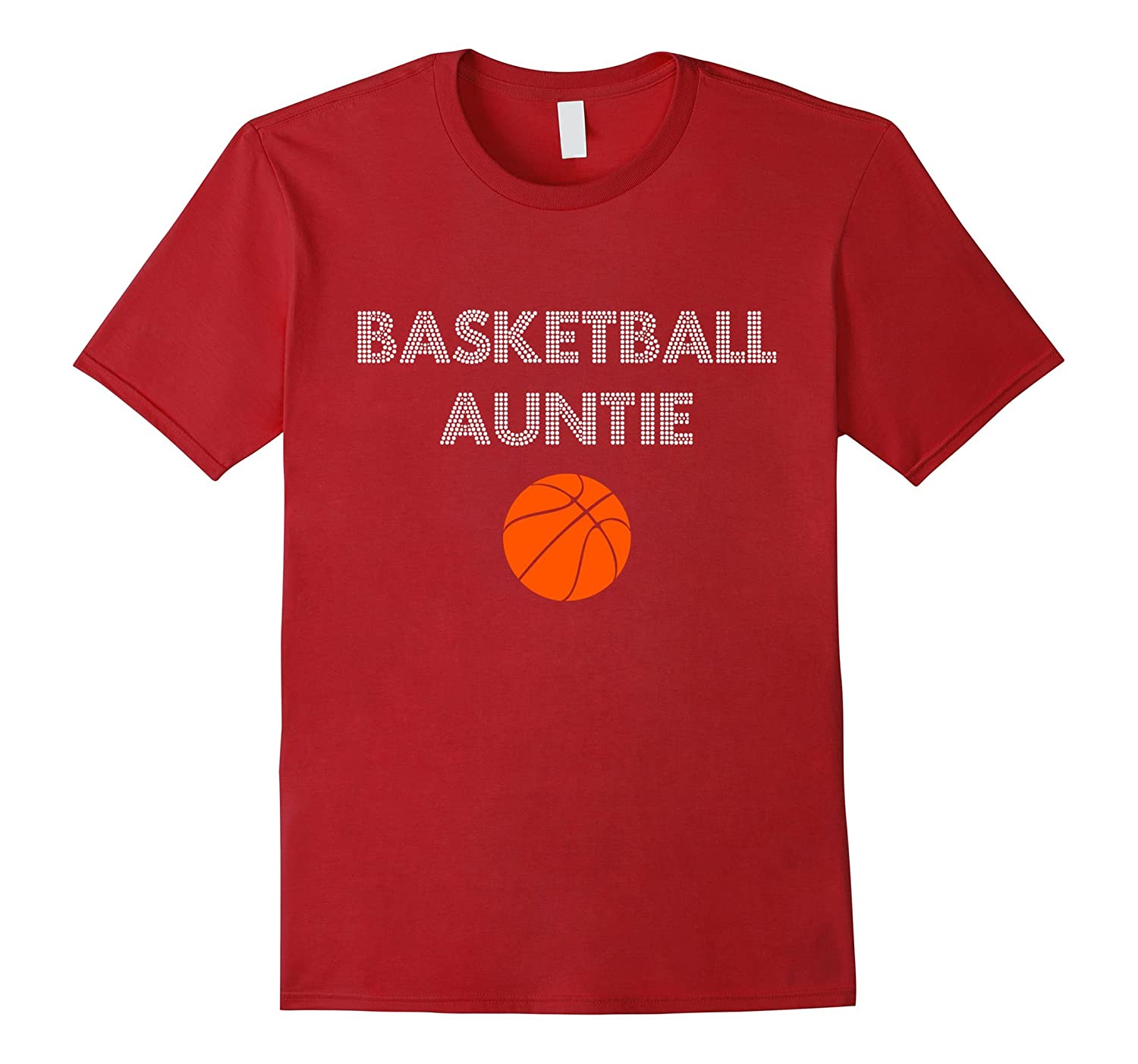 91e106871 Funny Basketball Auntie T-Shirt | Sports Aunt Gift Tee-ANZ - Anztshirt