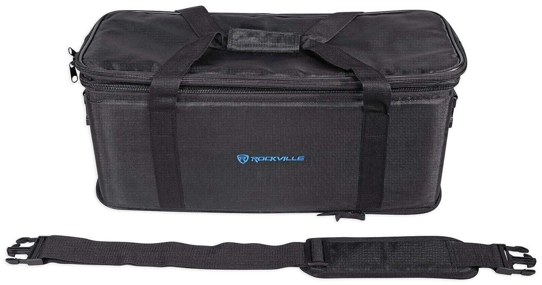 Rockville RRB40 4U Space Bag-Style Rack Case with Removable Rack+Shoulder Strap
