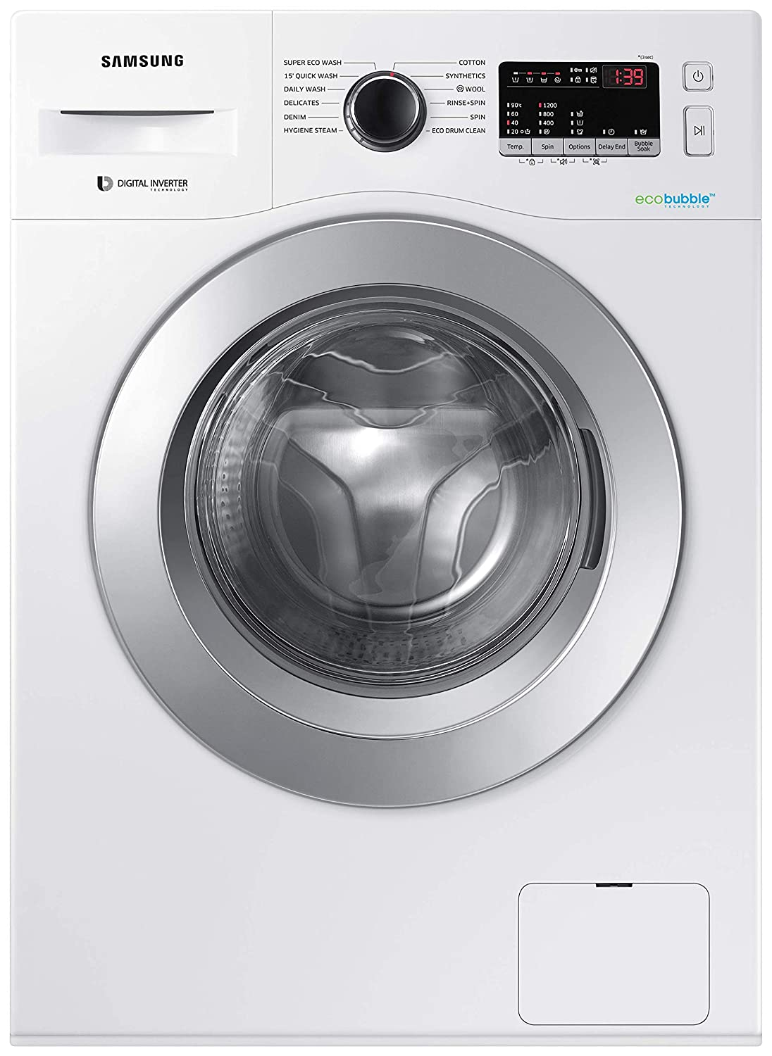 Samsung 7 Kg 5 Star Inverter Fully-Automatic Front Loading Washing Machine