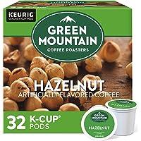 Green Mountain Coffee Hazelnut Keurig Single-Serve K-Cup Pods, Light Roast Coffee, 32 Count