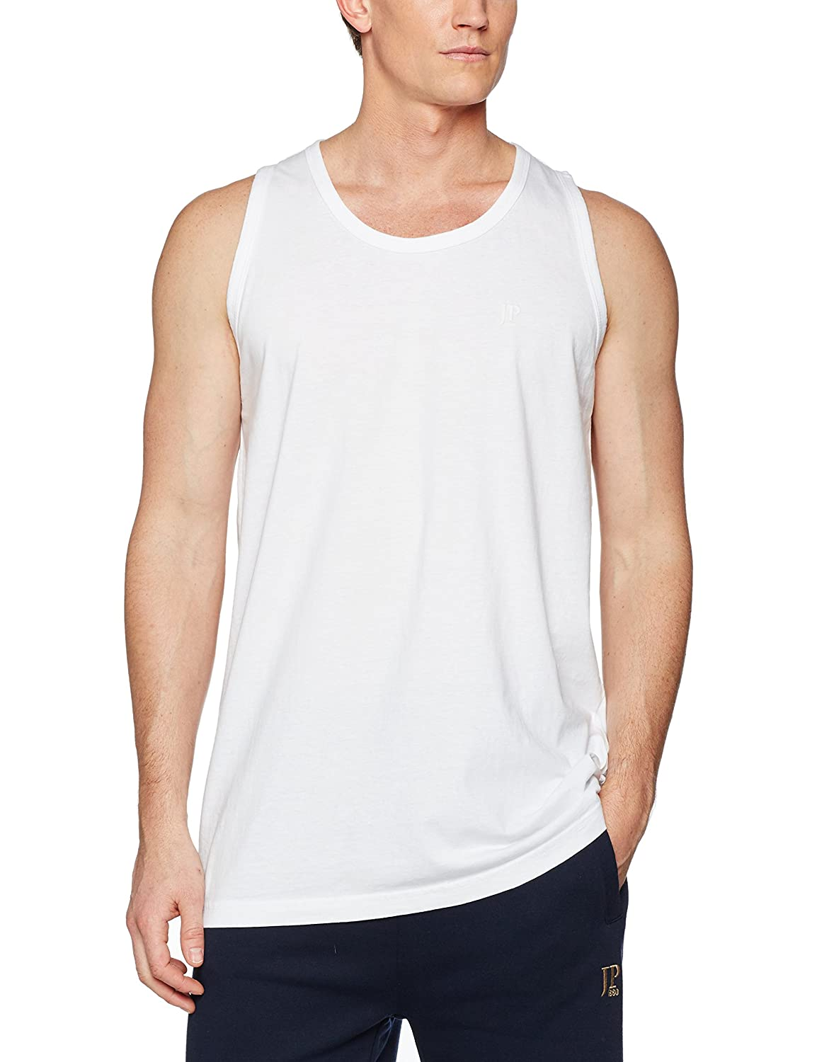 b6c93a02af238a JP 1880 Men s Big   Tall Basic Cotton Tank Top 705145 at Amazon Men s  Clothing store