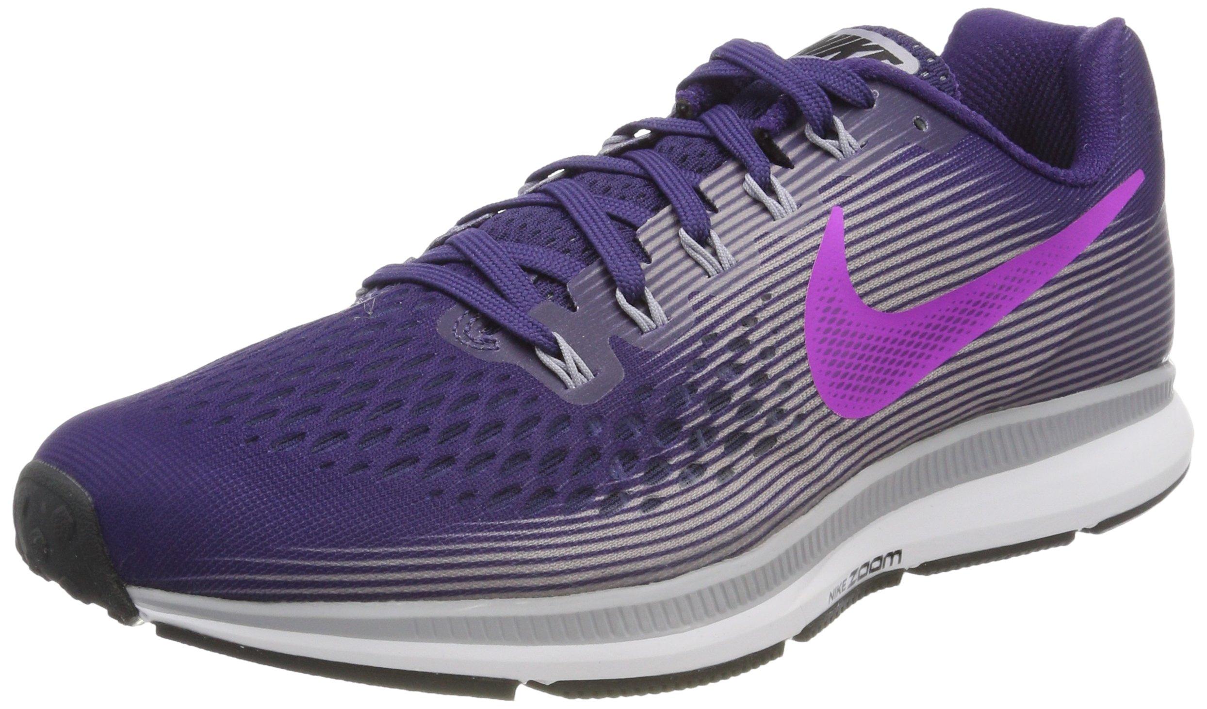 860694c8d56e Galleon - NIKE Women s Air Zoom Pegasus 34 Running Shoe Purple (10)