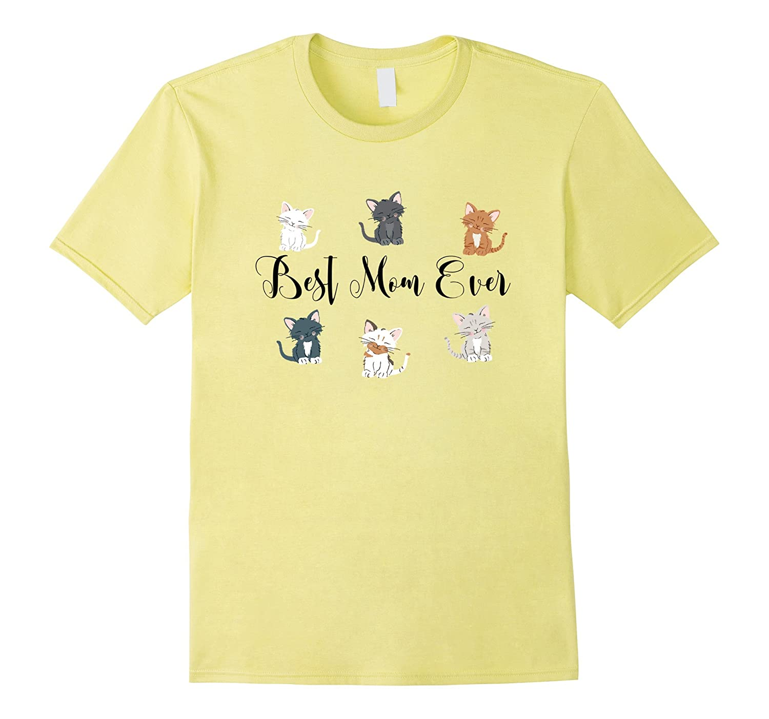 Unique Best Mom Cat Cool Shirt Mothers Day 1st Step Gifts-Vaci