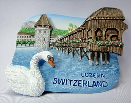Souvenir Collectibles Estado de Luzern Suiza imán para nevera ...