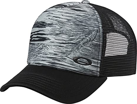... discount oakley mens mesh sublimated trucker adjustable hat one size  blackout 3a40d 654c3 4e2260f626f