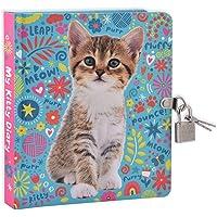MOLLYBEE KIDS My Kitty Lock and Key Diary for Kids