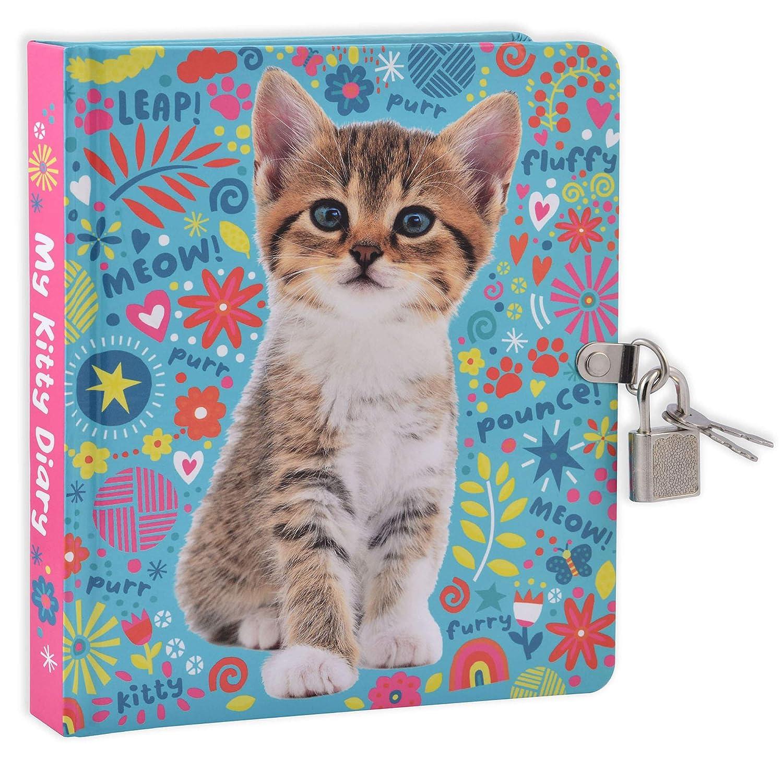 Amazon.com: Mollybee Kids My Kitty Lock and Key Diary: Toys ...