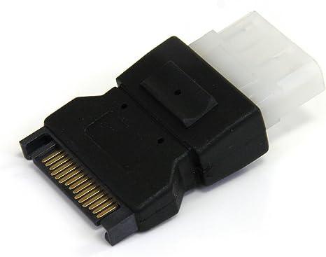 StarTech LP4SATAFM SATA to LP4 Power Cable Adapter 1 x Male SATA Black