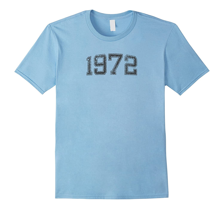 1972 Tshirt Year Vintage B-day Gift-T-Shirt
