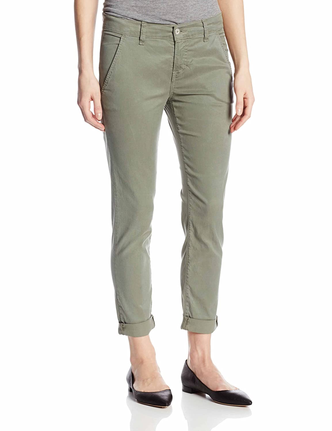 Siwy Women's Fiona Slouchy Cropped Chino Pant Siwy Womens Contemporary W887ATB GOE-1
