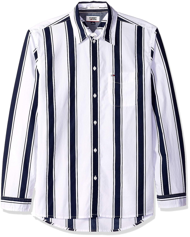 1e6b1e6f5663b Tommy Hilfiger Men's Button Down Shirt Bold Stripe