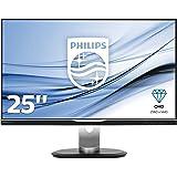 Philips - Brilliance - Moniteur LCD avec Dock USB-C 258B6QUEB/00- Moniteur Plat pour PC
