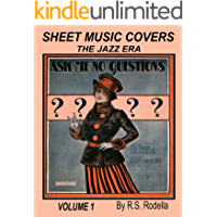 Sheet Music Covers Volume 1 Coffee Table Book: The Jazz Era book cover