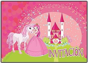 Invitaciones Cumpleanos Princesas Infantil En Espanol Princesa 12 - Tarjetas-de-invitacion-cumpleaos