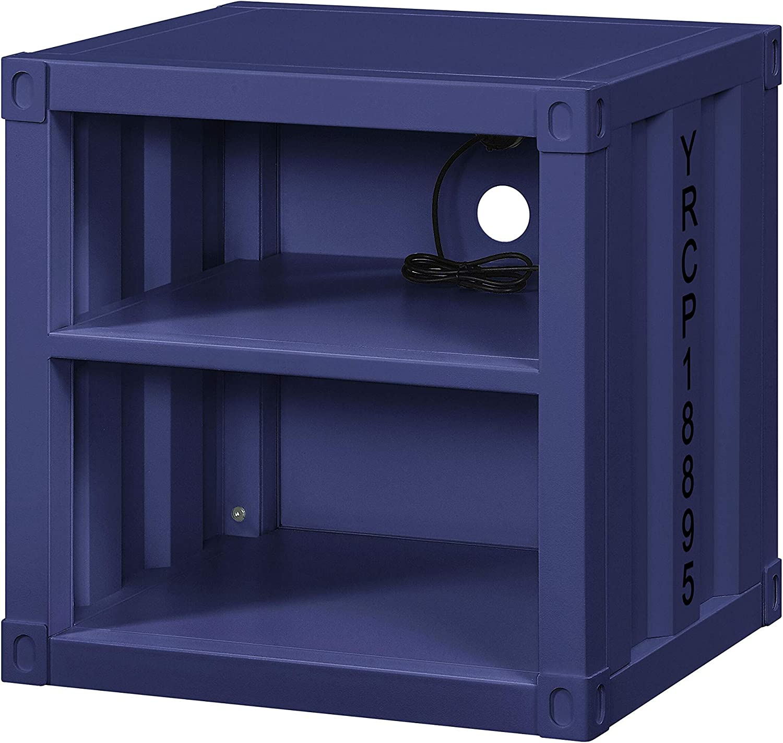 ACME Cargo Nightstand (USB) - - Blue