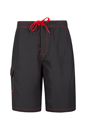 Mountain Warehouse Ocean Mens Boardshorts - Fast Dry Swim Shorts, Internal Mesh Beach Shorts, Adjustable Waist Beach Shorts with Side Pockets - for Swimming, Surfing