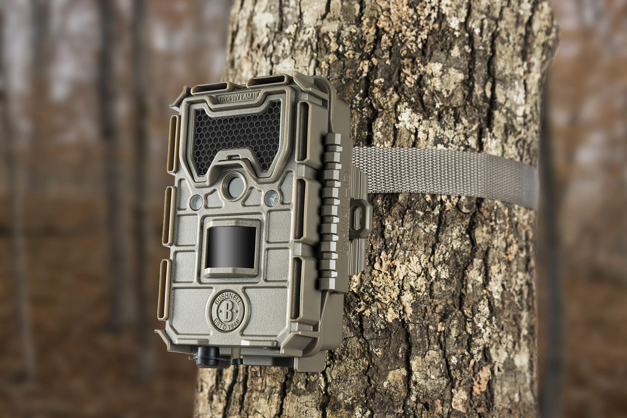 Trophy Cam HD No Glow Trail Camera, Brown, 20MP by Bushnell
