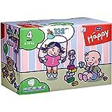 Bella Baby Happy Windeln, Big Pack, Größe 4 (Maxi), 8-18 kg, (1 x 132 Windeln)