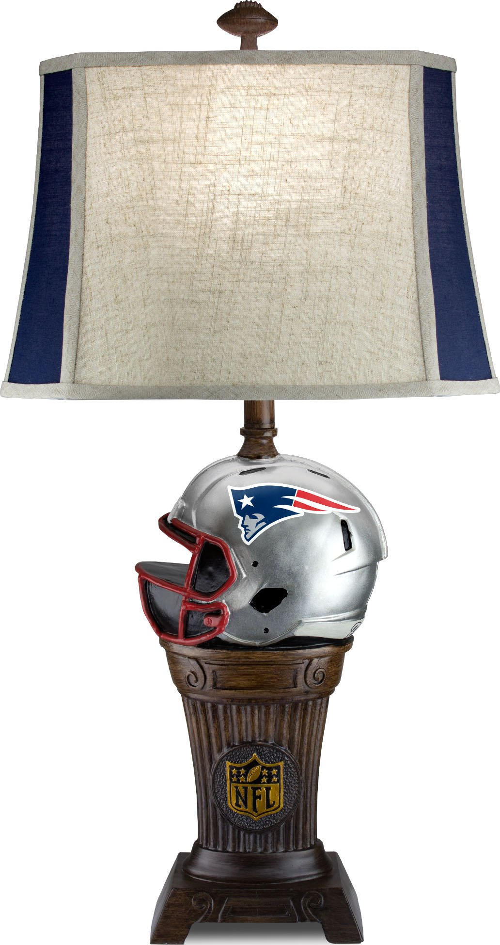 Imperial Officially Licensed NFL Merchandise: Trophy Lamp, New England Patriots