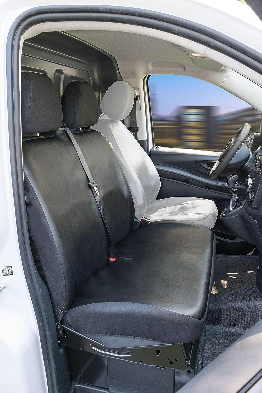 Heute Walser Mercedes-Benz Vito 447 Passform Sitzbez/üge f/ür Doppelbank vorne aus Kunstleder ab BJ 06//2014