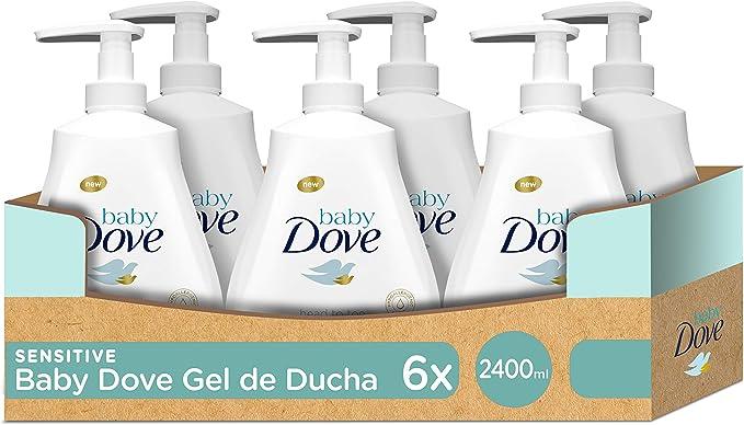 Gel de baño Baby Dove sensitive moisture de la cabeza a los pies ...