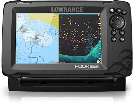 Lowrance Hook2 7x CHIRP GPS Plotter CHIRP Fishfinder /& SplitShot HDI Transducer
