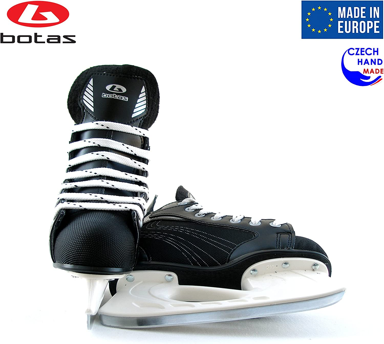 Botas Czech Republic   Color: Black Draft 281 Mens Ice Hockey Skates Made in Europe