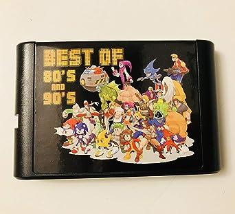 El más nuevo 196 en 1 Sega Genesis Mega Drive 16 bit Multi Cart Cartridge